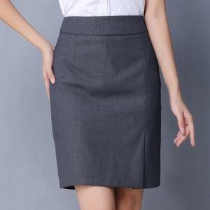 ARITZIA Talula Babaton Grey Wool Skirt